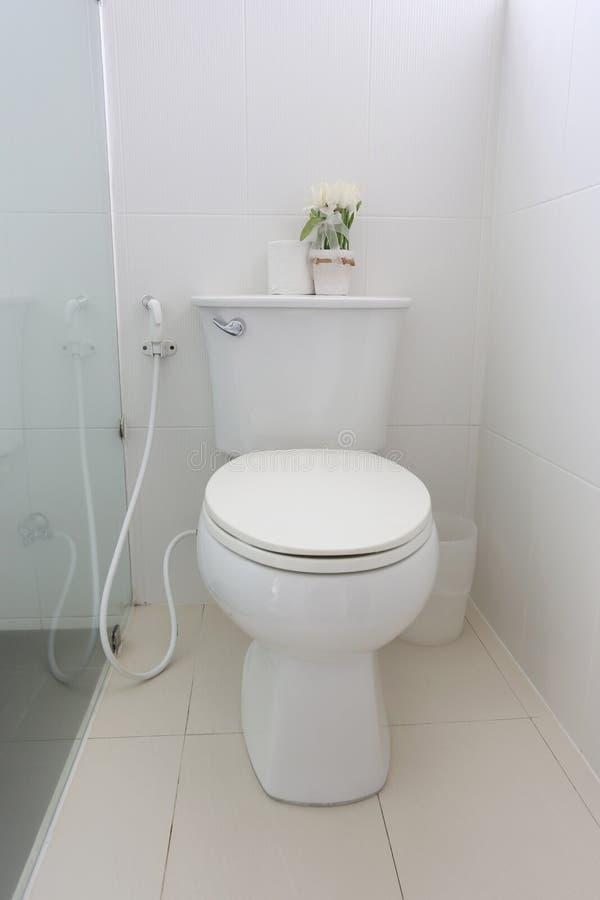 Sanitary ware object of bathroom interior. Sanitary ware object of bathroom interior in the house stock photos