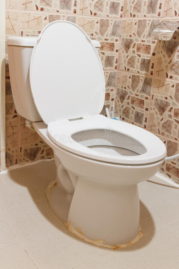 The sanitary ware white colour. The sanitary ware white colour for decorate design project stock photography