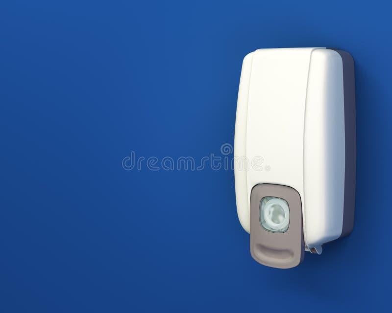 sanitizer χεριών διανομέων απεικόνιση αποθεμάτων