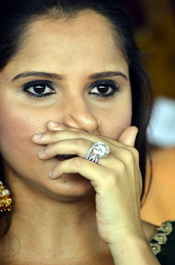 Saniya Mirza zdjęcie royalty free
