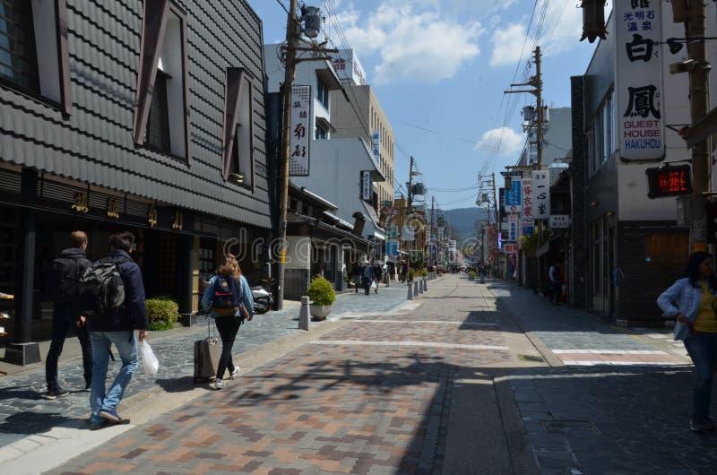 Sanjo-Doriweg Nara Japan royalty-vrije stock foto