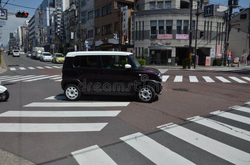 Sanjo-Doriweg Nara Japan stock fotografie