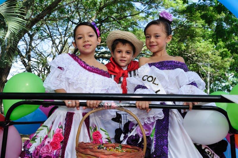 Sanjuanero节日-里维拉哥伦比亚 免版税库存图片