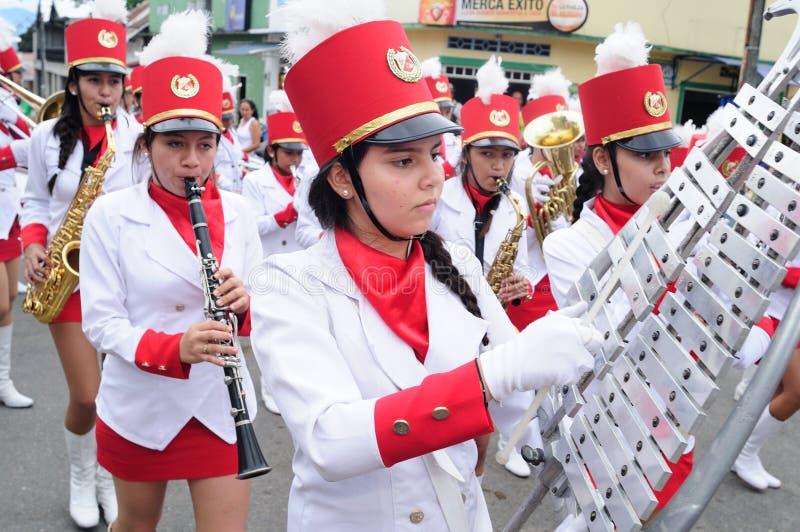 Sanjuanero节日-里维拉哥伦比亚 免版税图库摄影