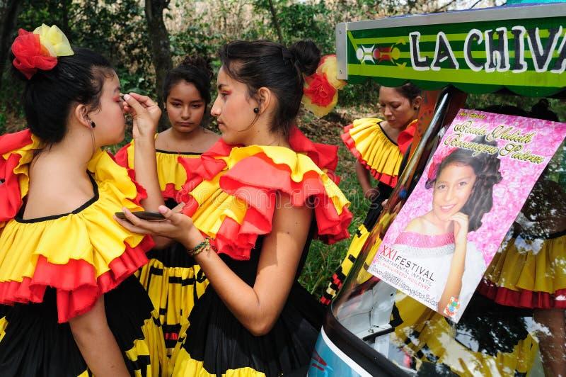 Sanjuanero Huilense Festival - Colombia royalty free stock photography