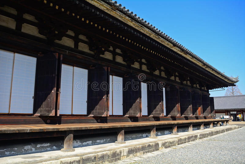Sanjusangendo Temple, Kyoto, Japan. Sanjusangendo Temple in Kyoto, Japan royalty free stock images