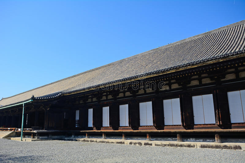 Sanjusangendo Temple, Kyoto, Japan. Sanjusangendo Temple in Kyoto, Japan royalty free stock image