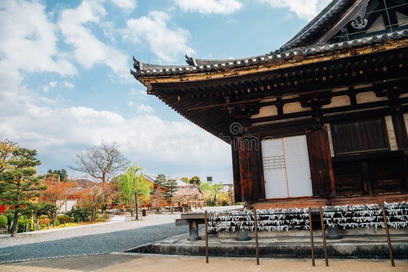 Sanjusangendo Temple at spring in Kyoto, Japan. Sanjusangendo Temple in Kyoto, Japan stock images