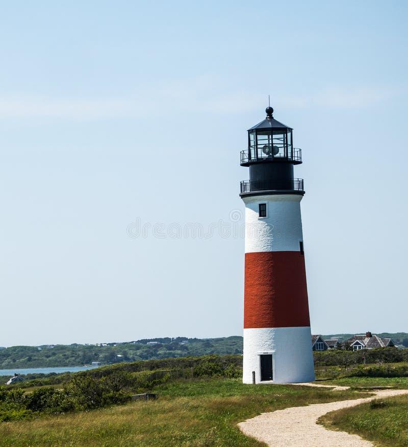 Sankaty Head Lighthouse stock image
