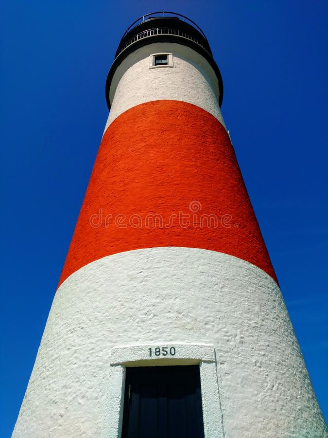 Sankaty Head Lighthouse, Nantucket, MA stock image