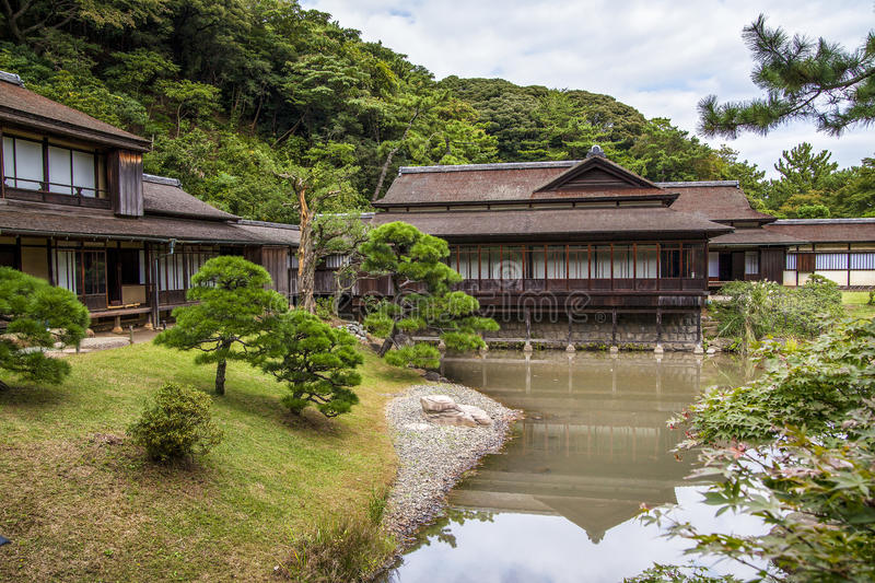 Sankei editorial stock photo image of house garden 49949023 - Household water treatment a traditional approach ...