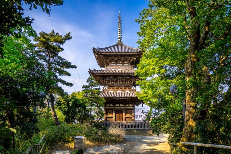 Sankei Pagoda stock photo