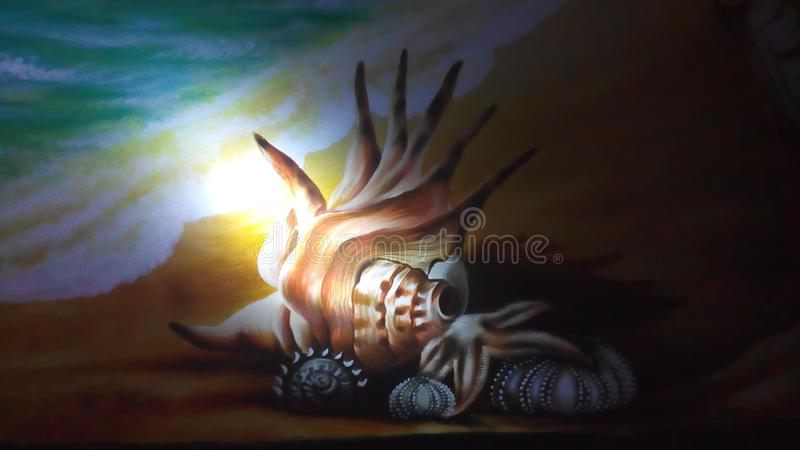 Sankh seabeach obrazy royalty free