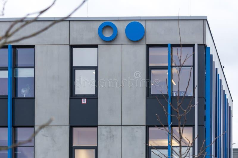 Sankt Augustin, Nordrhein-Westfalen/Deutschland - 09 11 18: sieg Bonns Rhein Universität im sankt Augustin Deutschland lizenzfreie stockbilder
