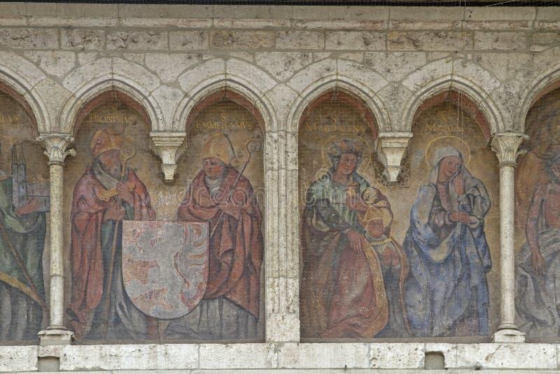 Sankt Emmeram en Regensburg fotos de archivo libres de regalías