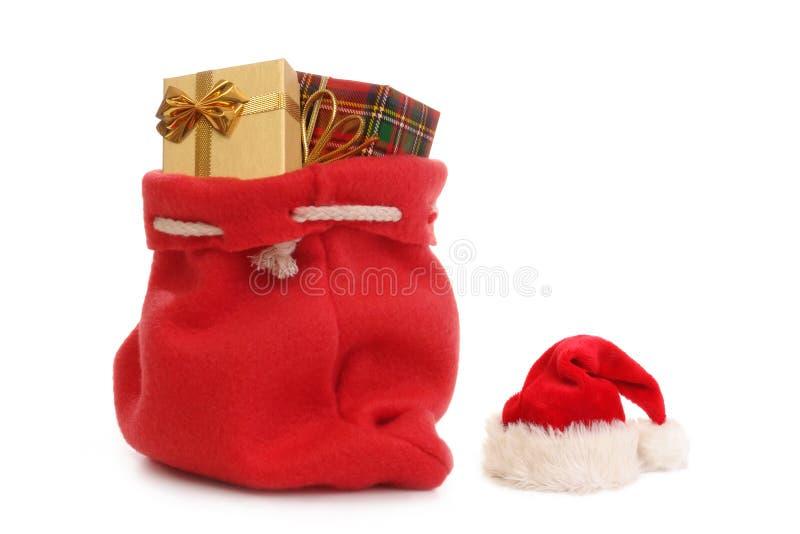 Sankt Geschenke lizenzfreie stockfotografie