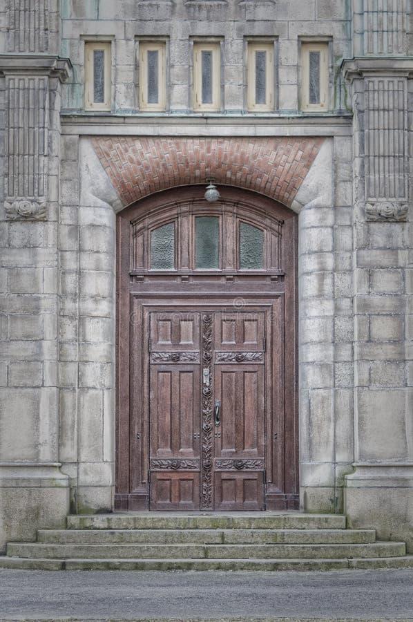 Sankt Johannes Kyrka Door imágenes de archivo libres de regalías