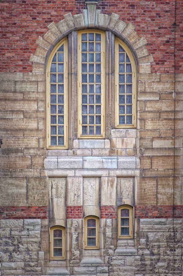 Sankt Johannes Kyrka Windows imagem de stock