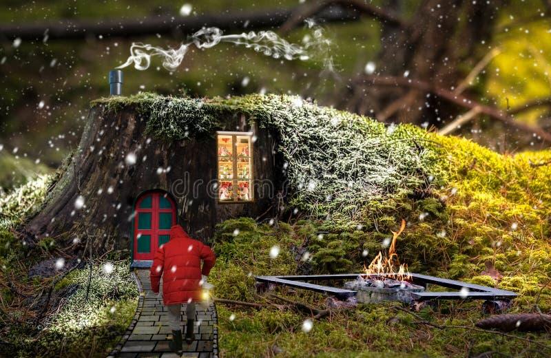 Sankt Klaus, Himmel, Frost, Beutel stockbilder