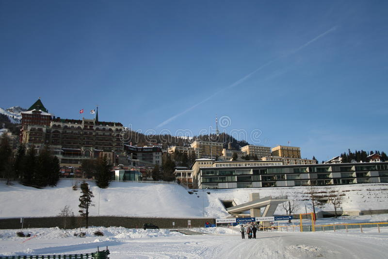 Download Sankt Moritz editorial image. Image of caspar, famous - 23290060