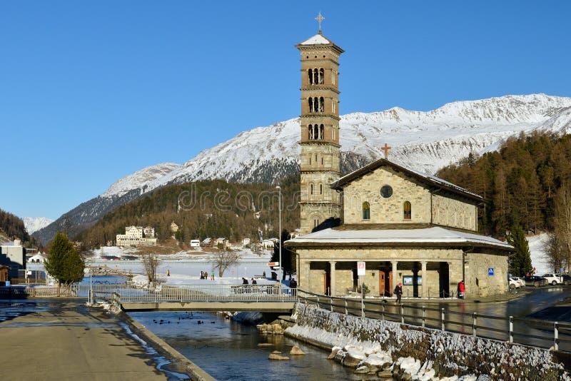 Sankt Moritz royalty free stock photos