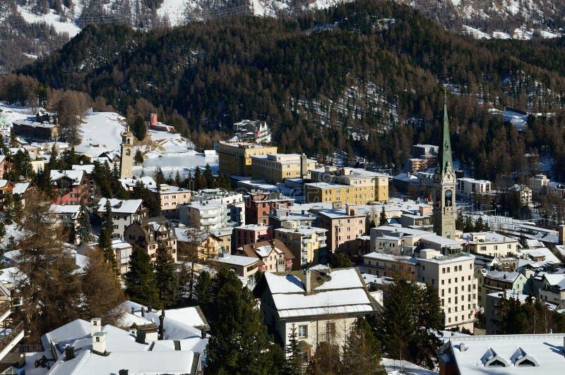 Sankt Moritz royalty free stock images