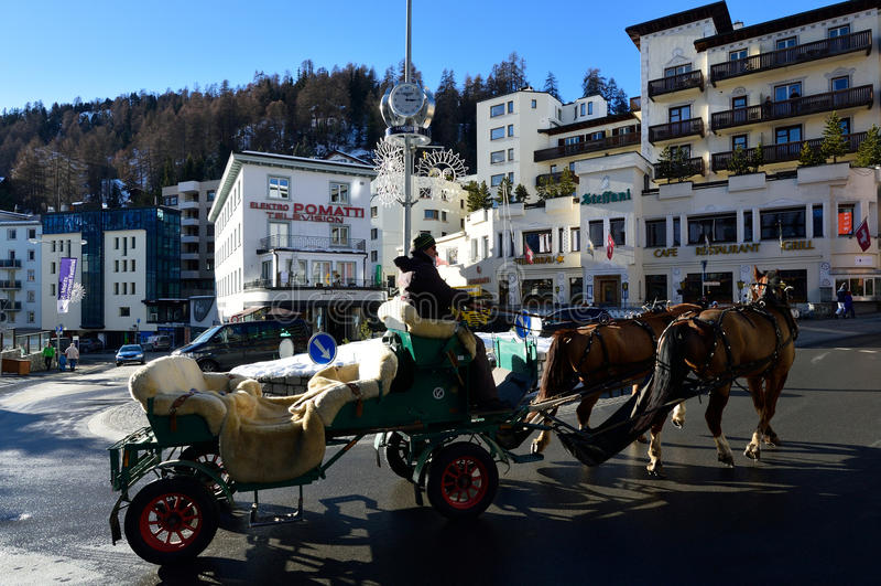 Sankt Moritz stock photos