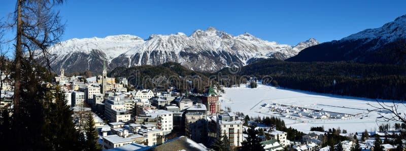 Sankt Moritz stock image