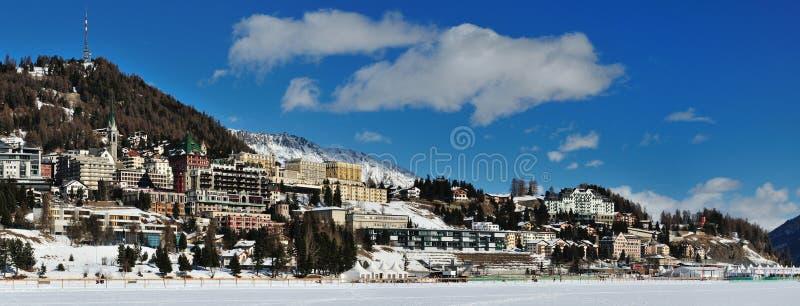 Sankt Moritz stock images
