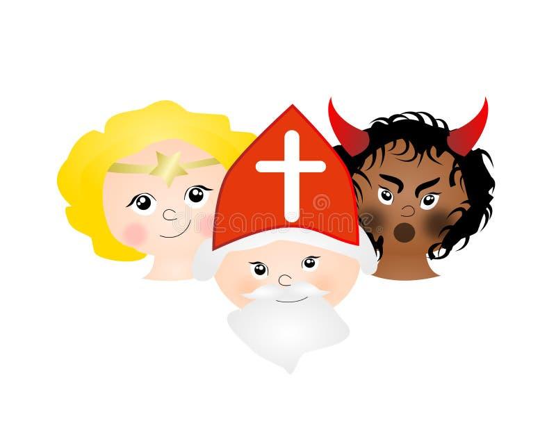 Sankt Nikolaus stock abbildung