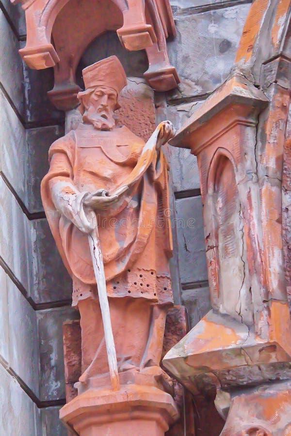 Sankt Nikolaus der Gönner von Seeleuten stockbild