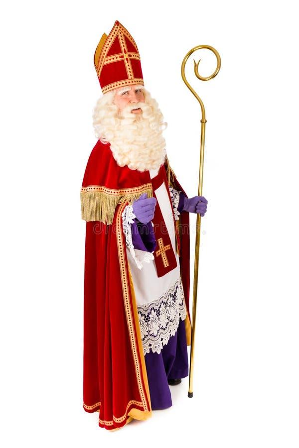 Sankt- Nikolausganzaufnahme lizenzfreie stockbilder