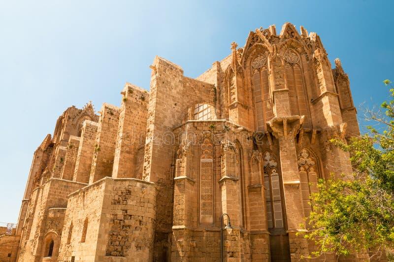 Sankt- Nikolauskathedrale Famagusta, Zypern lizenzfreies stockbild