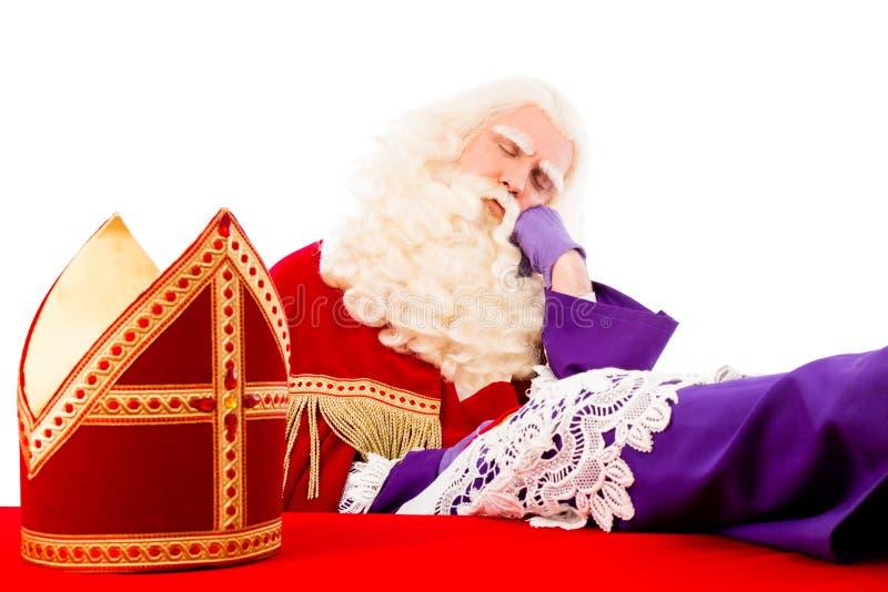 Sankt- Nikolausschlafen lizenzfreie stockfotos