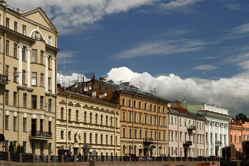 Sankt Pétersbourg. images stock