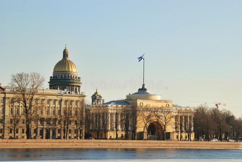 Sankt Petersburg widok fotografia royalty free