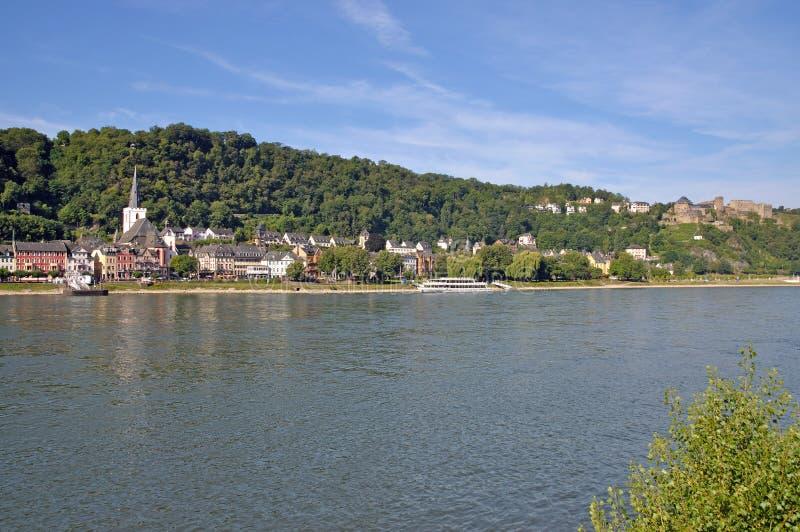 Download Sanktt Goar, Rhine Flod, Tyskland Fotografering för Bildbyråer - Bild av turister, turism: 27280891
