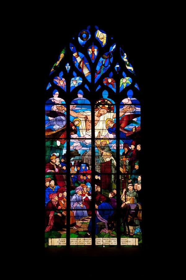 Sanktt Malo kyrka arkivbilder
