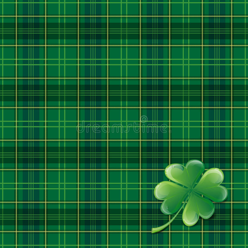 Sanktt Patricks dagbakgrund royaltyfri illustrationer