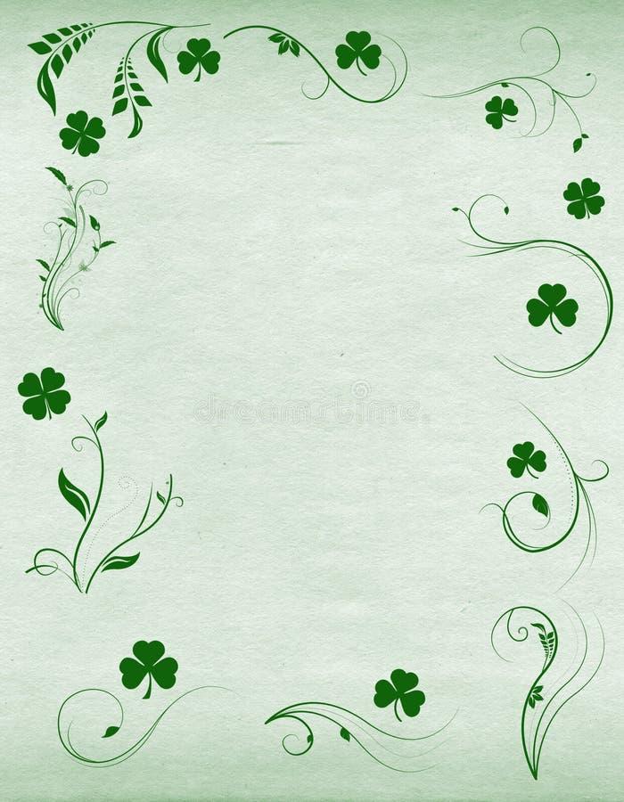Sanktt Patricks dagbakgrund vektor illustrationer