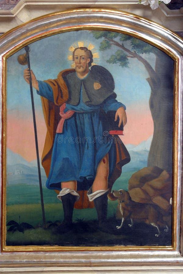 Sanktt Roch royaltyfria foton