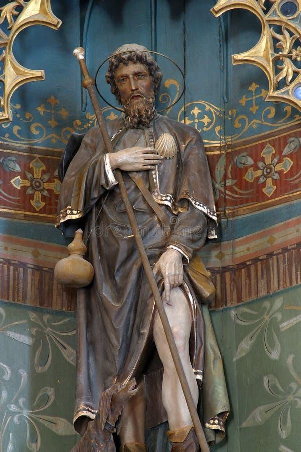 Sanktt Roch royaltyfri foto