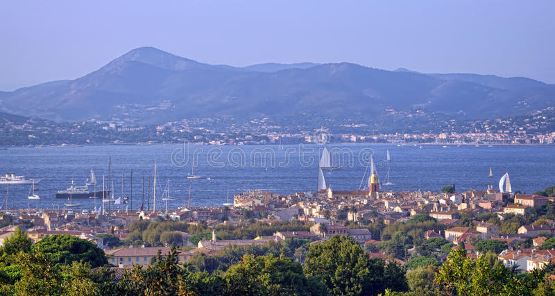 Sanktt Tropez, Frankrike royaltyfri bild