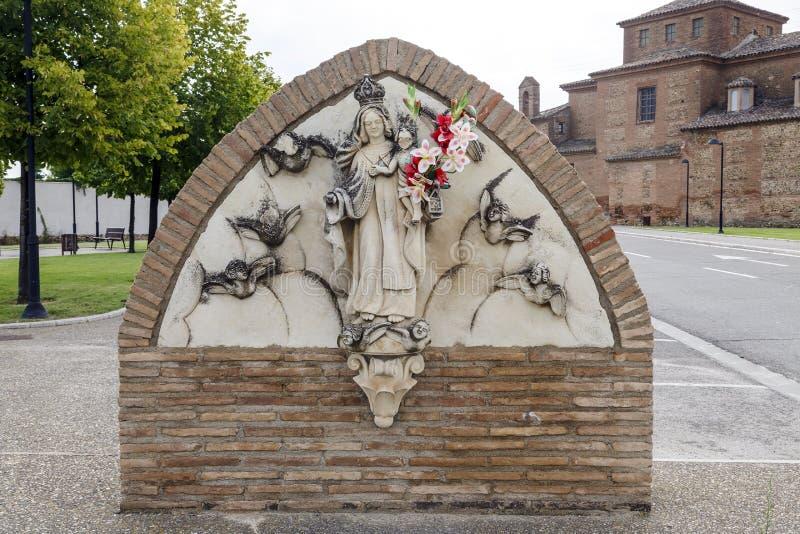 Sanktuarium Nasz dama Carmen, Calahorra. fotografia stock
