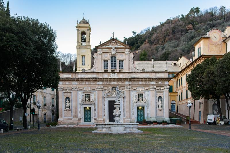 Sanktuarium Nostra Signora della Misericordia Savona obrazy royalty free
