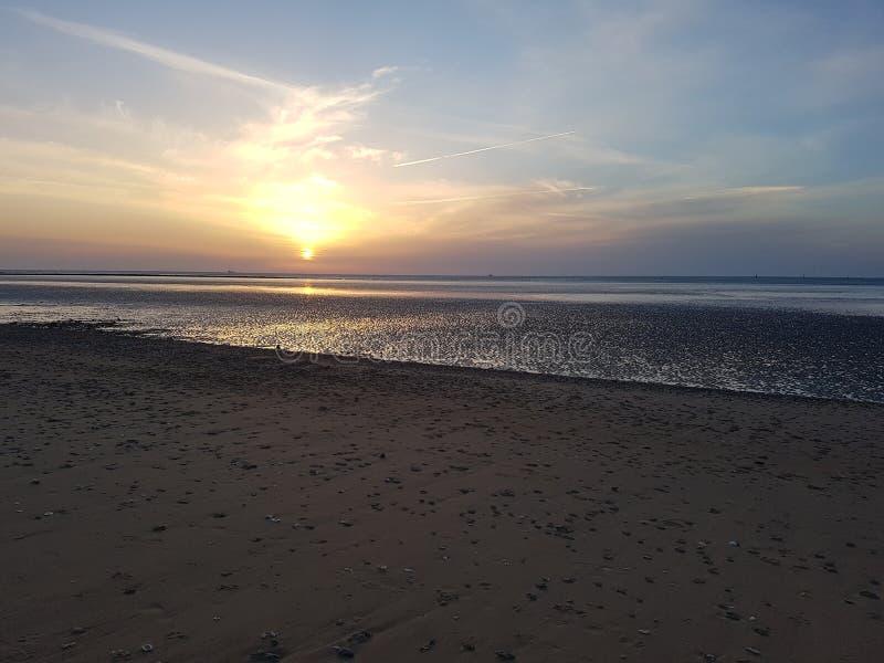 Sanlúcar de Barrameda Beach fotografie stock libere da diritti