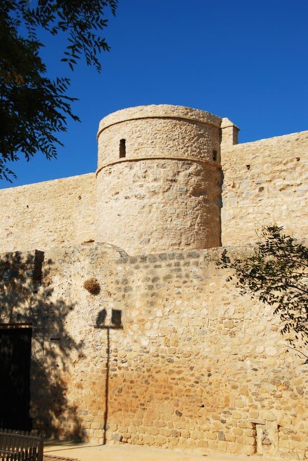 Sanlucar de Barrameda城堡 图库摄影