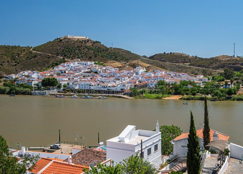 Sanlucar De le Guadiana, Huelva, Espagne images libres de droits