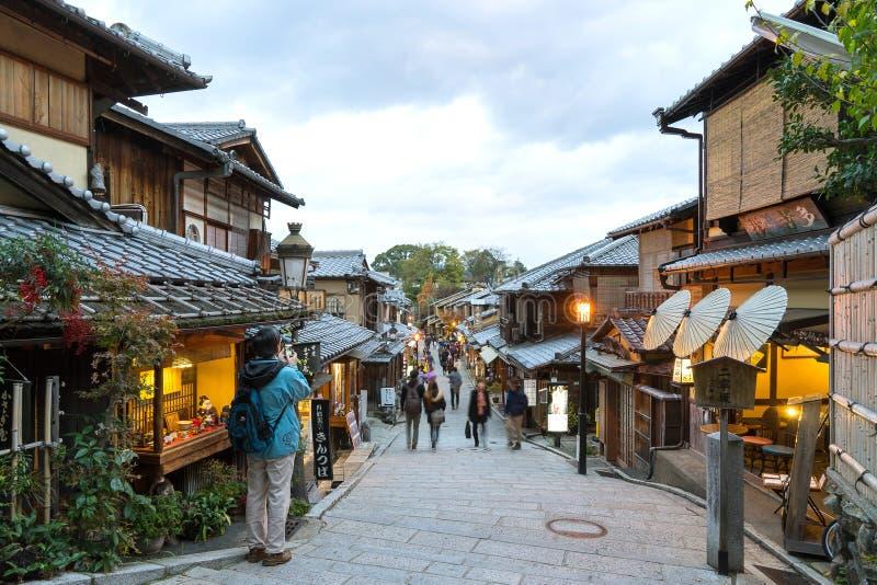 Download Sannen-Zaka Street, Kyoto editorial stock photo. Image of kioto - 63714483