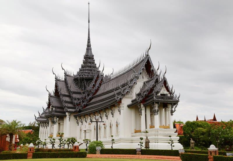 Sanphet Prasat宫殿,古城,曼谷,泰国 库存图片